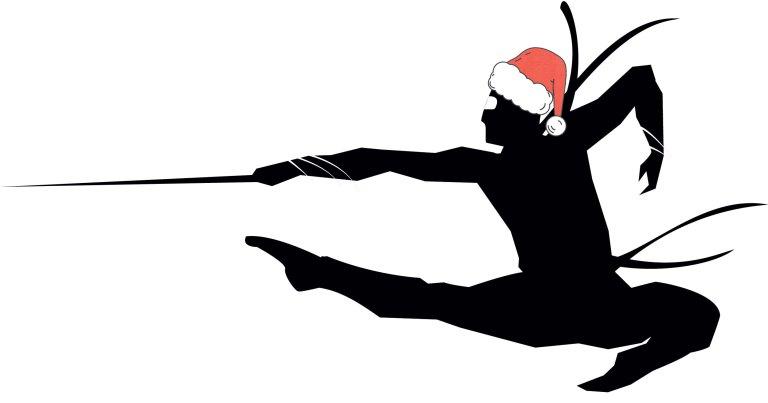 Christmas-ninja